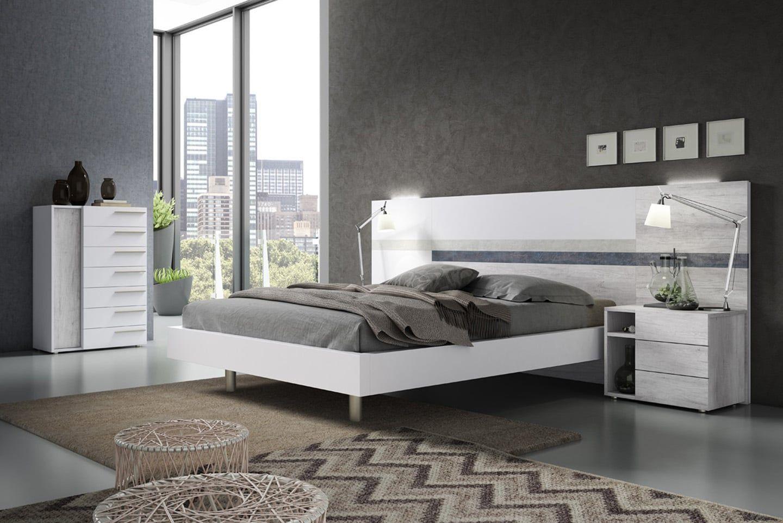 Mueble Dormitorio Matrimonio Moderno Ma 99 Tienda De Muebles De  # Muebles Dormitorio Moderno