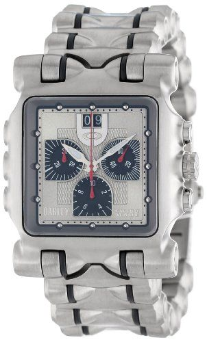 b859c87d68e SALE Oakley Men s 10-194 Minute Machine Titanium Bracelet Edition Titanium  Chronograph Watch