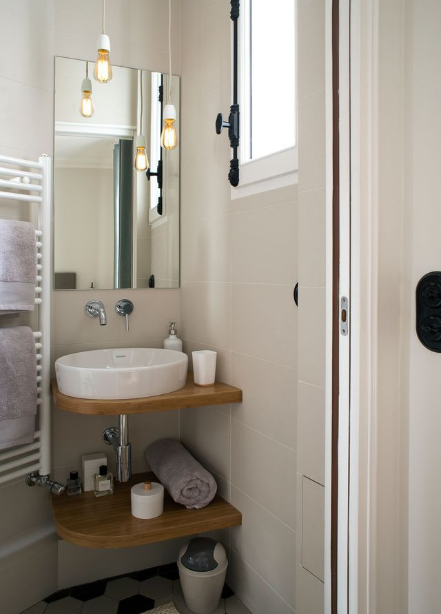 Appartement paris 6 : un 90 m2 haussmannien moderne | Small spaces ...