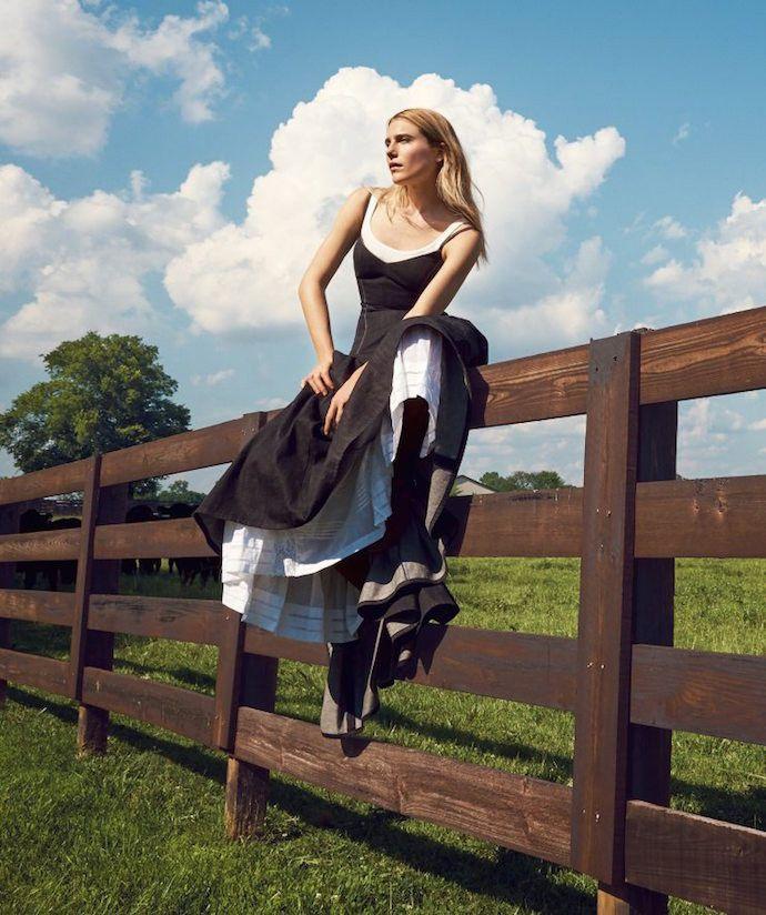 Модный десант в сентябрьском выпуске Vogue US 2015
