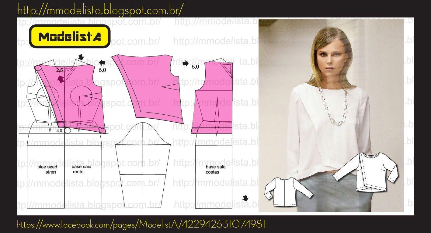 camisa patron | Patron | Pinterest | Patrones, Costura y Camisas