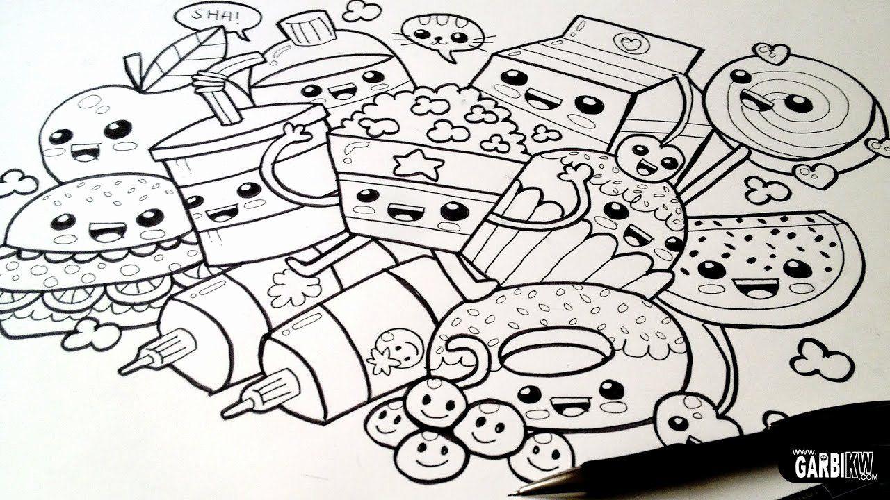 Kawaii Coloring Pages Printable In 2020 Cute Drawings Kawaii