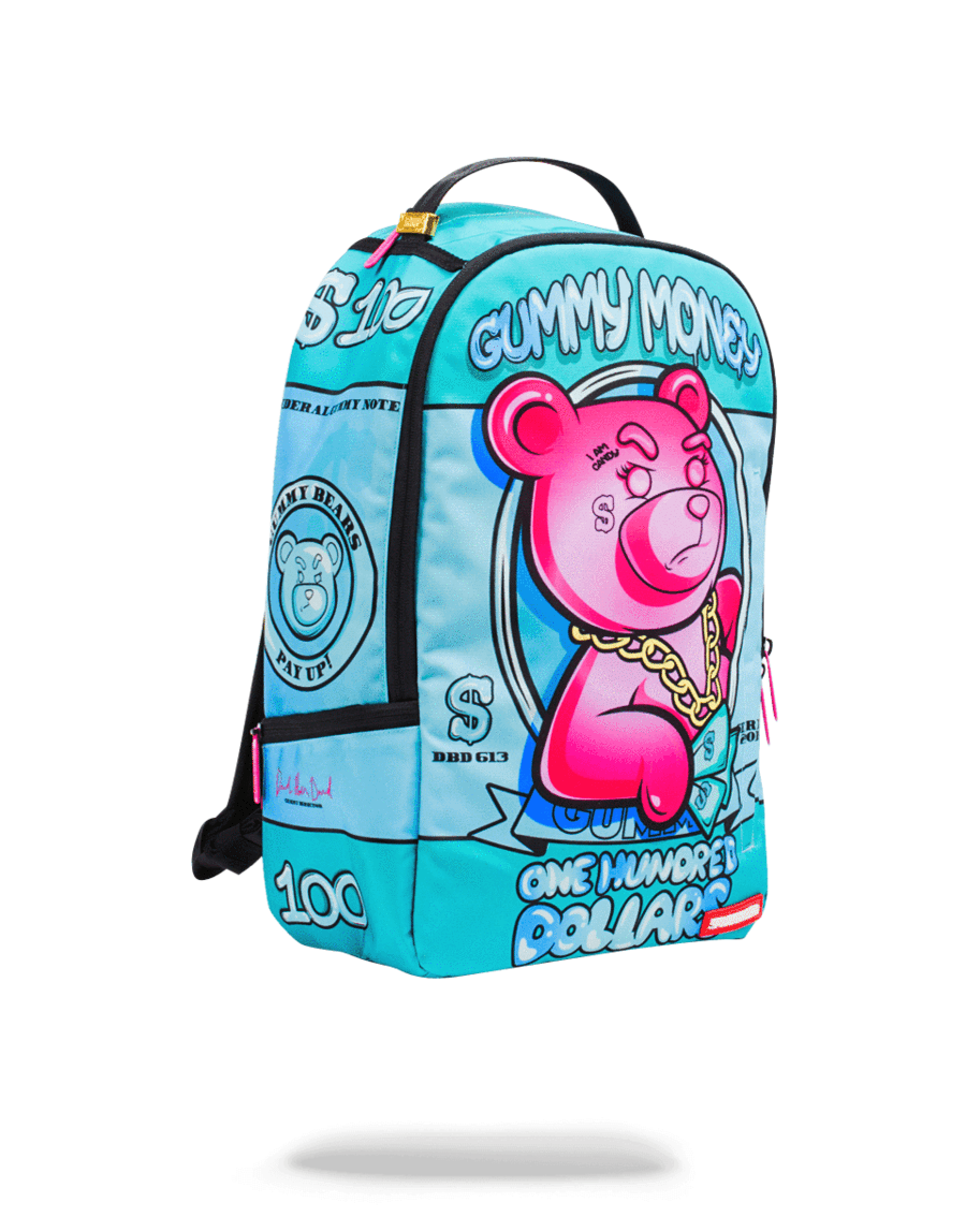74b027596c SPRAYGROUND- PINK GUMMY MONEY BACKPACK