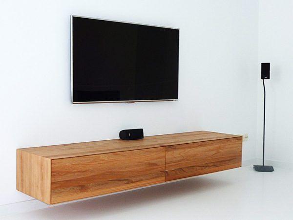 Hangende Tv Kast : Zwevende tv meubel tvs tv stands and interiors
