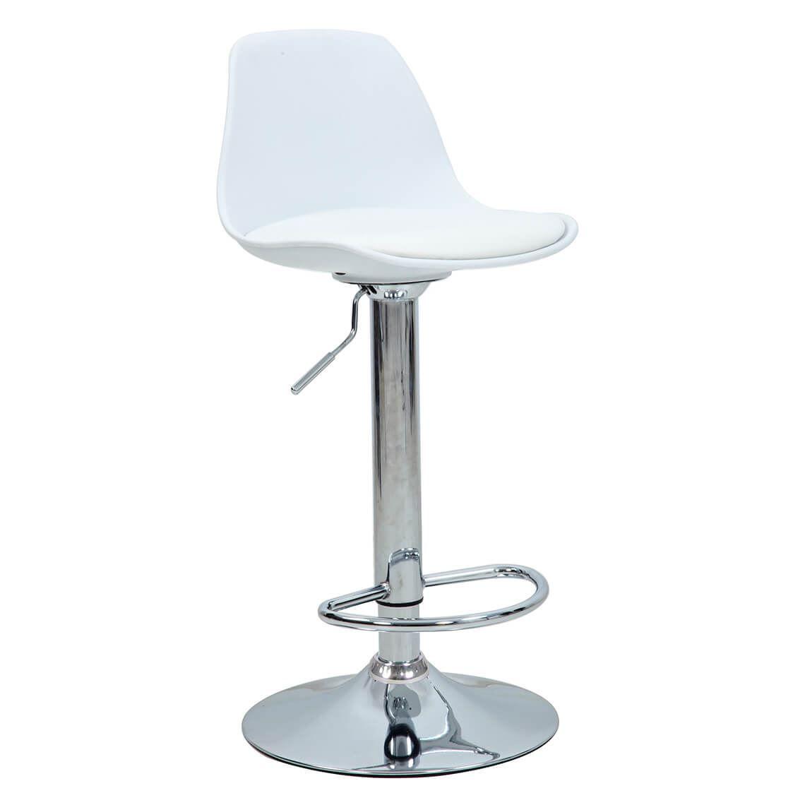 Astounding Brandon Bar Stool White In 2019 Products Bar Stools Ibusinesslaw Wood Chair Design Ideas Ibusinesslaworg
