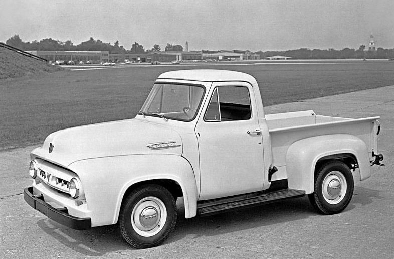 ford f 100 truck 1953 1956 history, pictures, and information cars