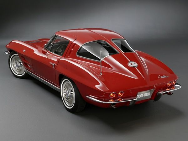 1963 Corvette Split-Window Coupe.