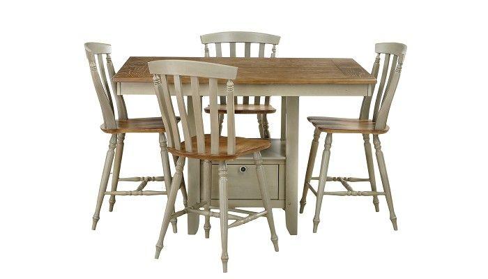 Slumberland Furniture  Al Fresco Collection  Taupe Counter Unique Slumberland Dining Room Sets Inspiration Design
