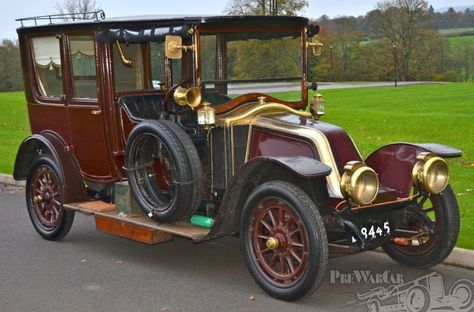 1912 Renault 20 30hp Limousine Similar To The One In The Movie
