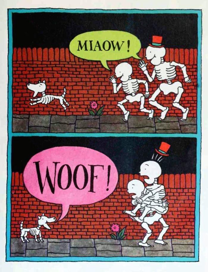 Funnybones Janet And Allan Ahlberg Illustration In 2019