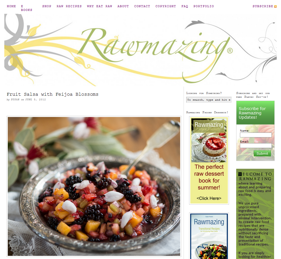 17 delicious raw food blogs running on wordpress holistic health 17 delicious raw food blogs running on wordpress best healthy recipesraw forumfinder Choice Image