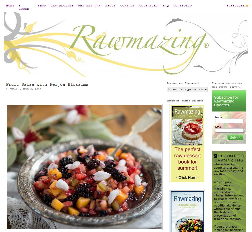 17 delicious raw food blogs running on wordpress holistic health 17 delicious raw food blogs running on wordpress forumfinder Choice Image