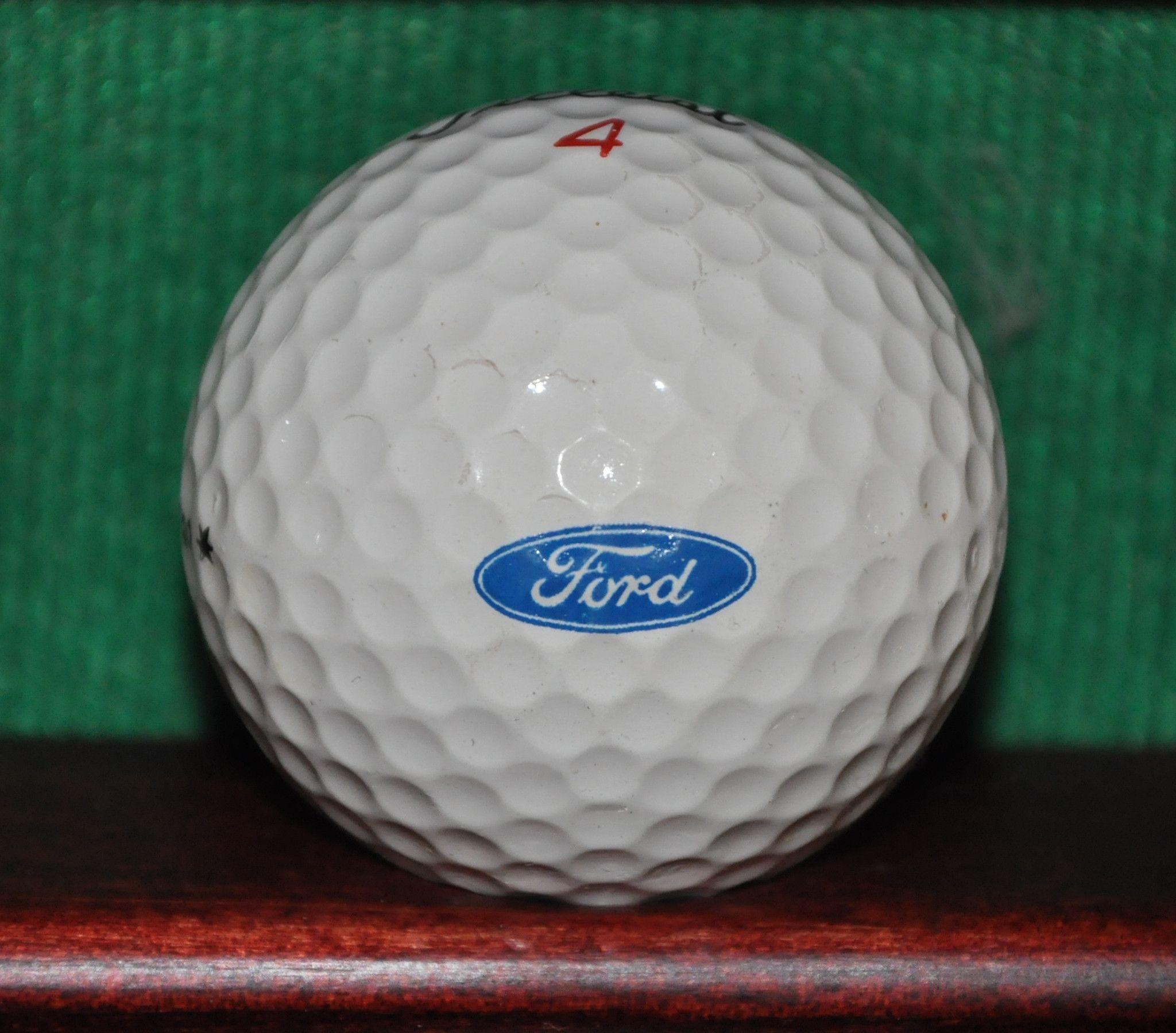 Vintage Ford Motor Company Logo Golf Ball Titleist Golf Ball Golf Gifts Motor Company Logo
