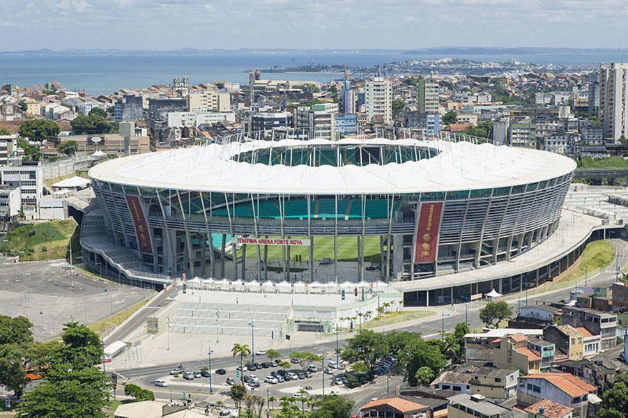 Arena Fonte Nova, Salvador Brazil World cup stadiums