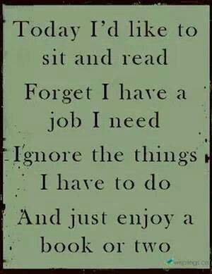 ...and just enjoy a book or two.