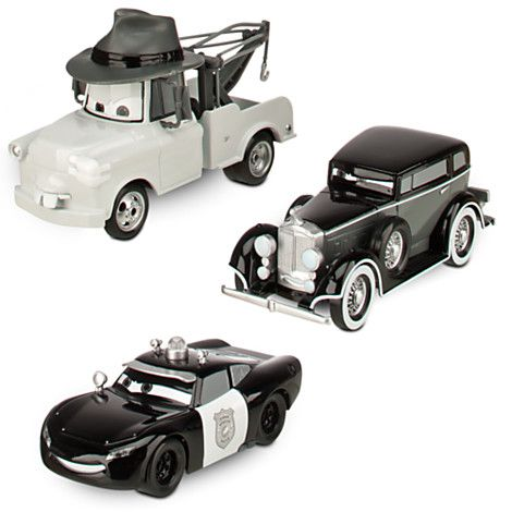 Cars Toon Mater Private Eye Die Cast Set  Pc  Vehicles  Rc