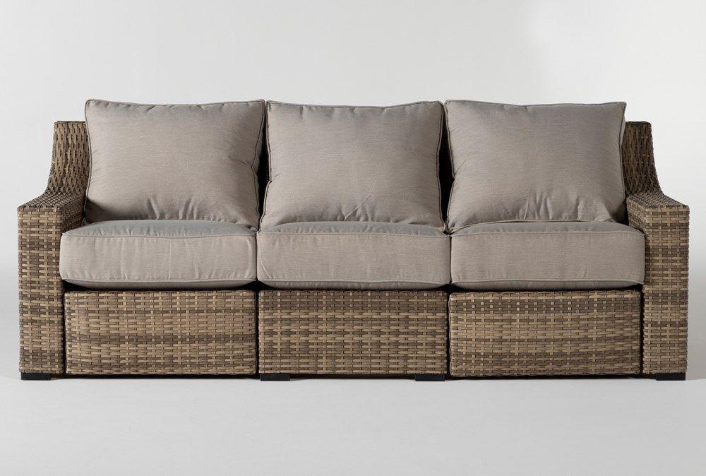 Capri Outdoor Reclining Sofa in 2020 Reclining sofa