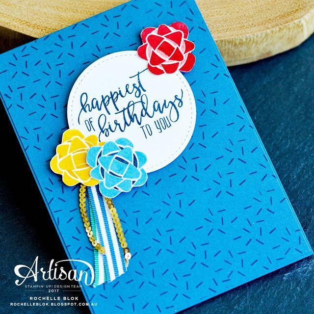 The Stamping Blok December Birthdays Blog Hop Crafts Cards
