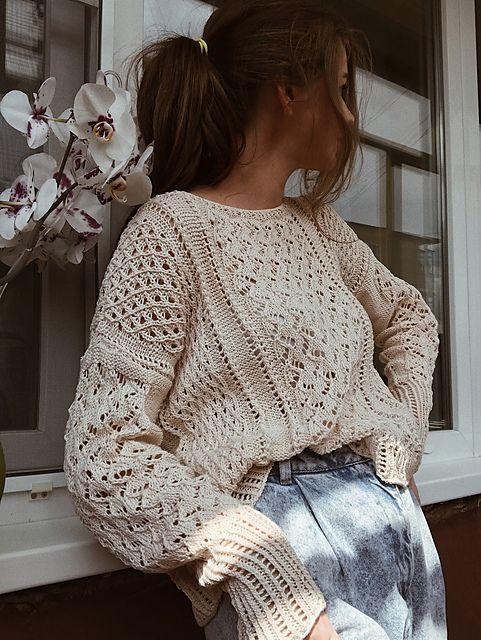 Lace Sweater Villanelle
