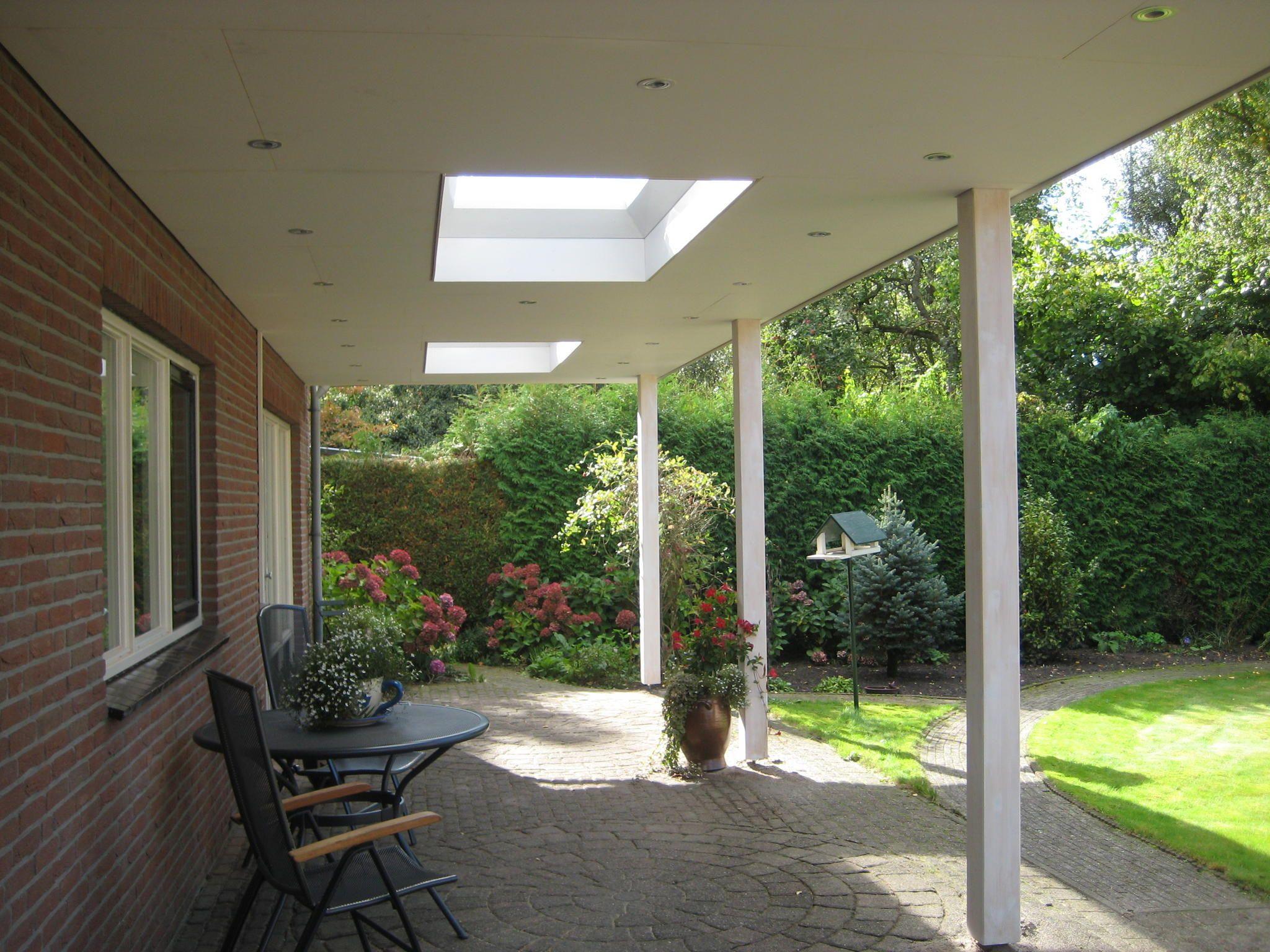 Overkapping aan huis google zoeken tuin pinterest zoeken google en tuin - Overdekte patio pergola ...