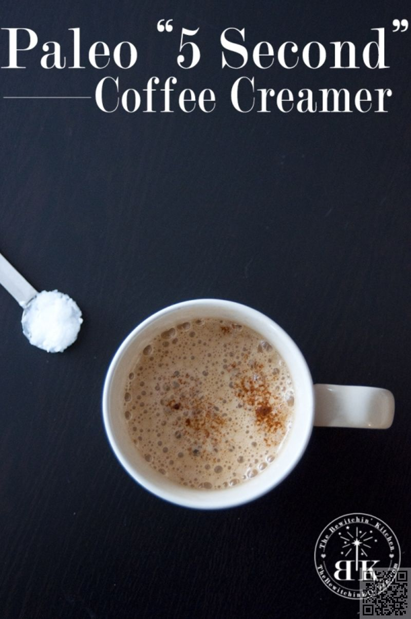 paleo coffee creamer homemade