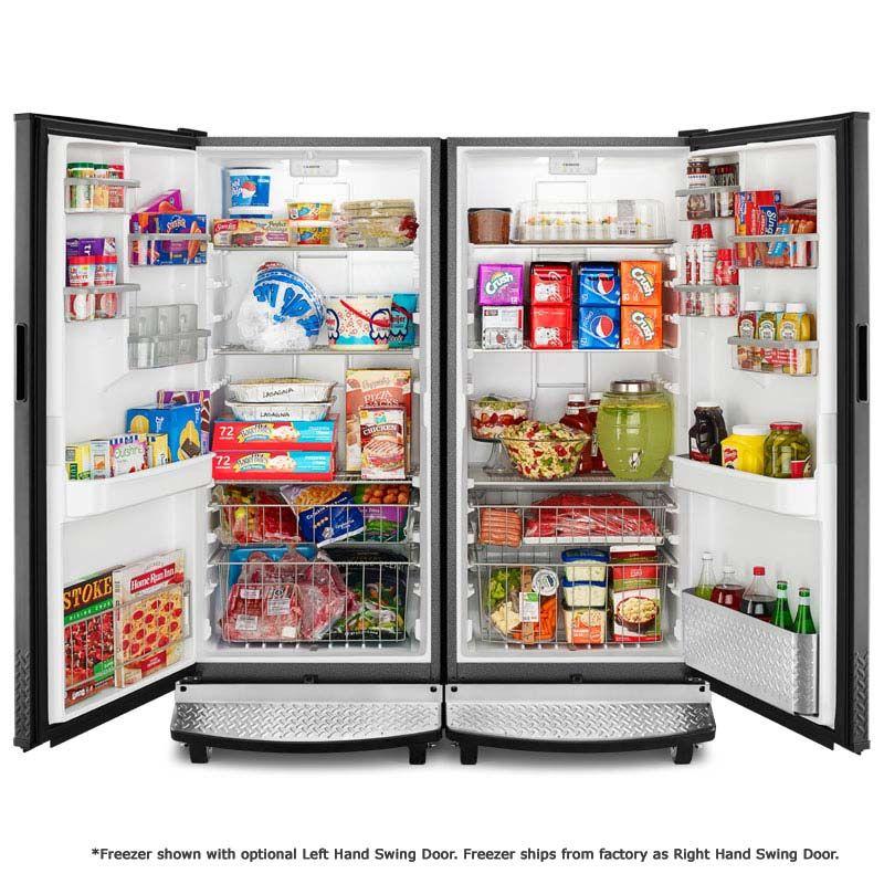 Gladiator Garage Ready Refrigerator Freezer Set Ceiling Storage