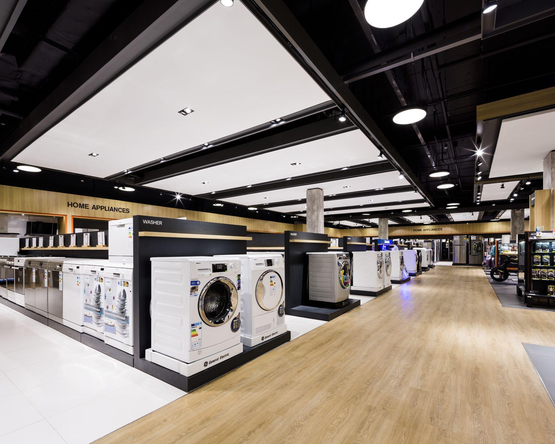 Powerbuy Central Chidlom Retail Interior Design Electronics