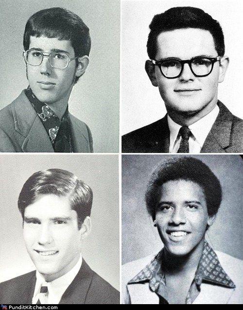Barack Obama High School Yearbook High School Dream Dates Obama