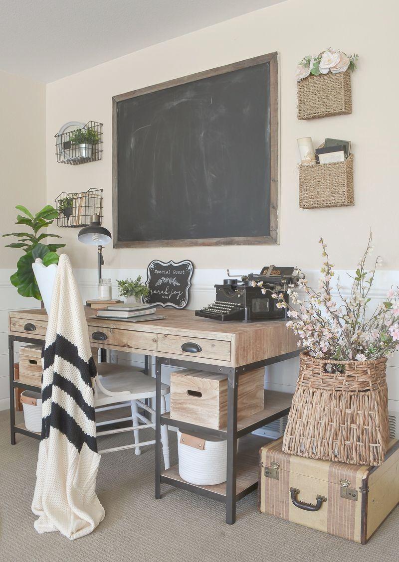 small farmhouse office ideas
