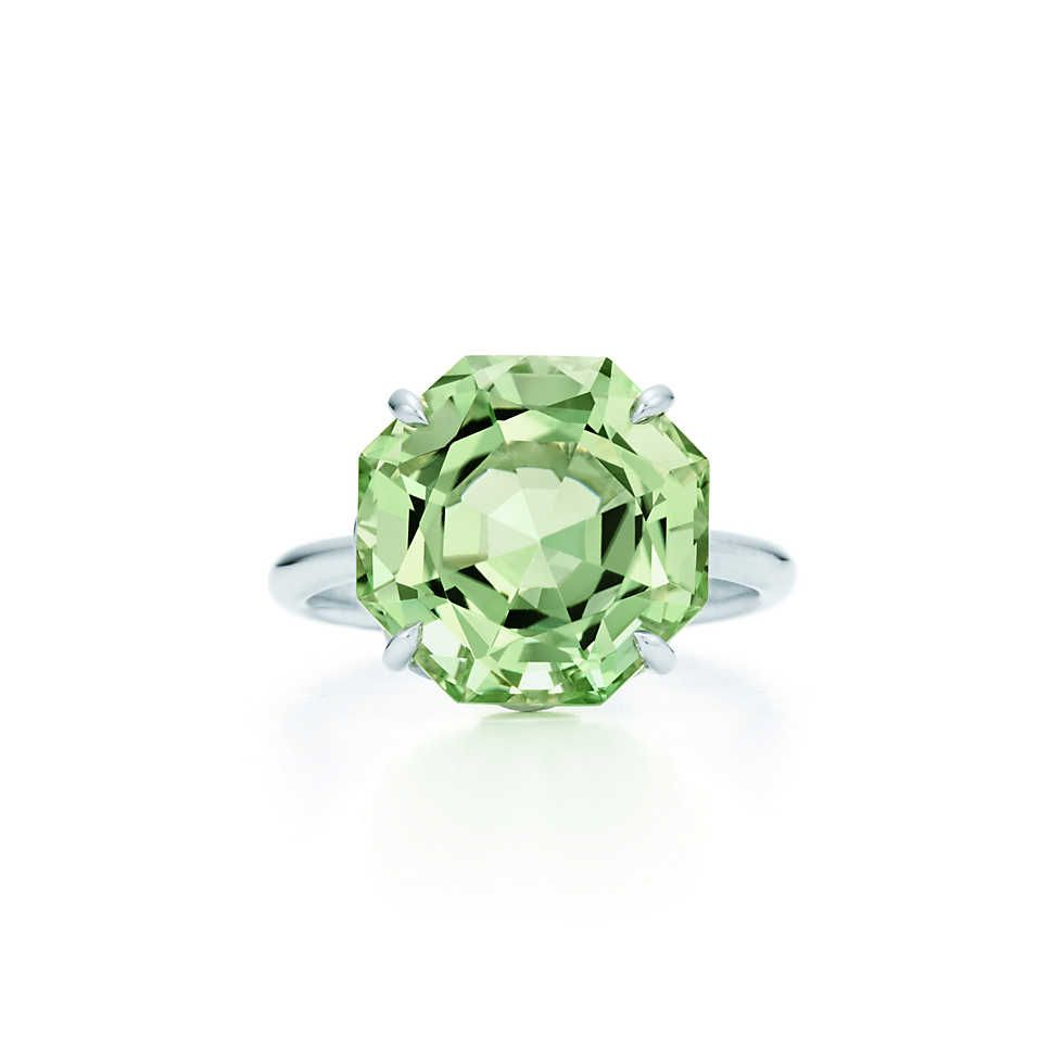 9ef5e5c00 Tiffany Sparklers:Green Quartz Ring | Jewelry | Green quartz, Quartz ...