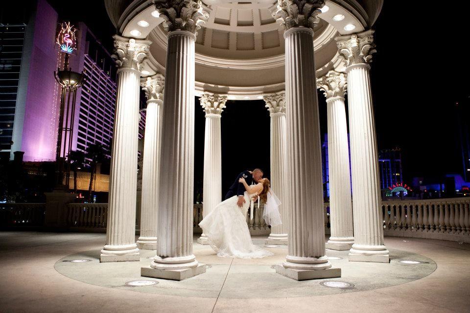 Wedding, Air force love, Las Vegas wedding, Caesar's