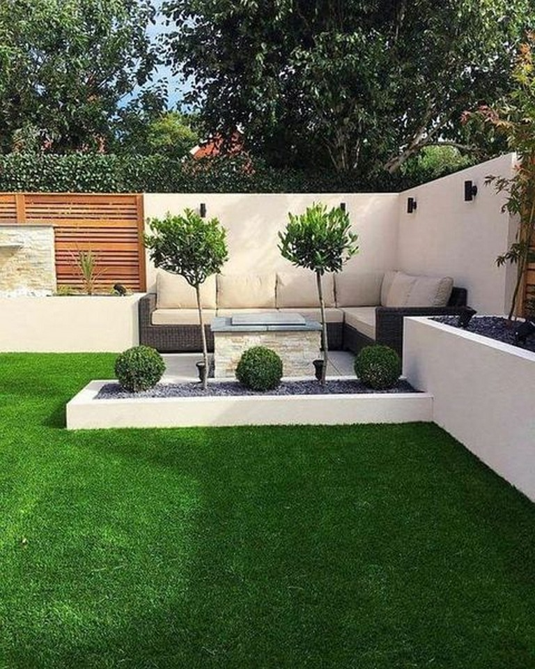 35 Cool And Fresh Backyard Landscaping Ideas Small Backyard