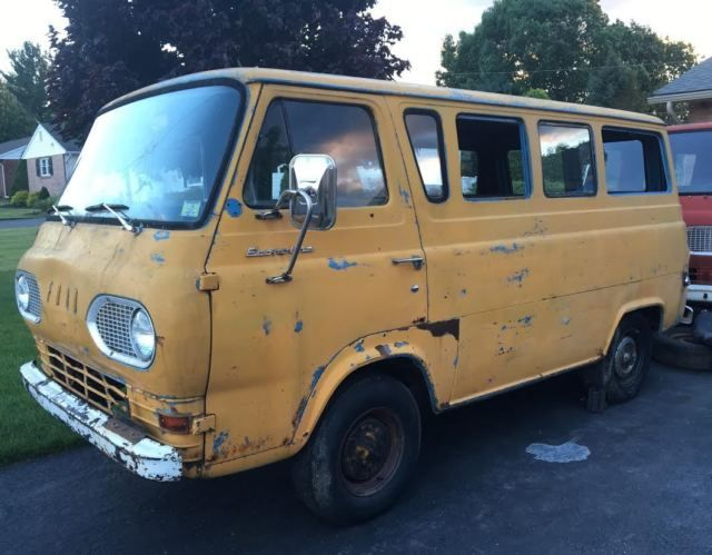 1965 Ford Econoline Falcon Window Van Station Bus E100 65 Surf