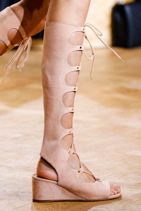 Chloe Spring 2015 Rtw Runway Look Sapatos Looks