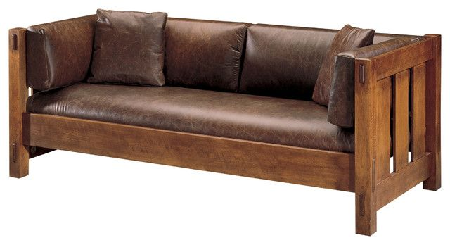 Craftsman Leather Couch Design House Furniture Sofa Furniture
