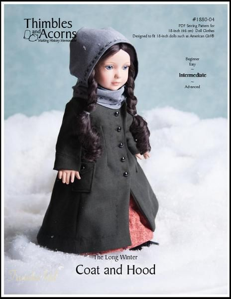 The Long Winter Coat and Hood 18\