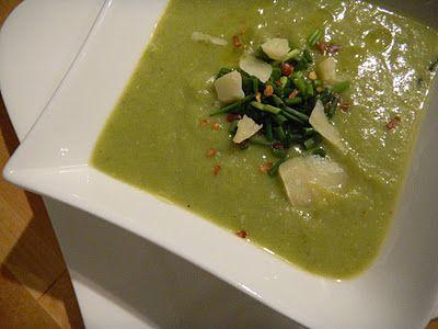 Green Soup: Asparagus & Leek