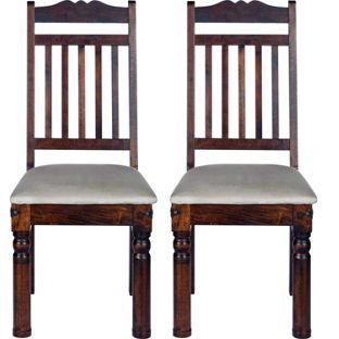 Marrakesh Pair Of Dining Chairs From Homebasecouk