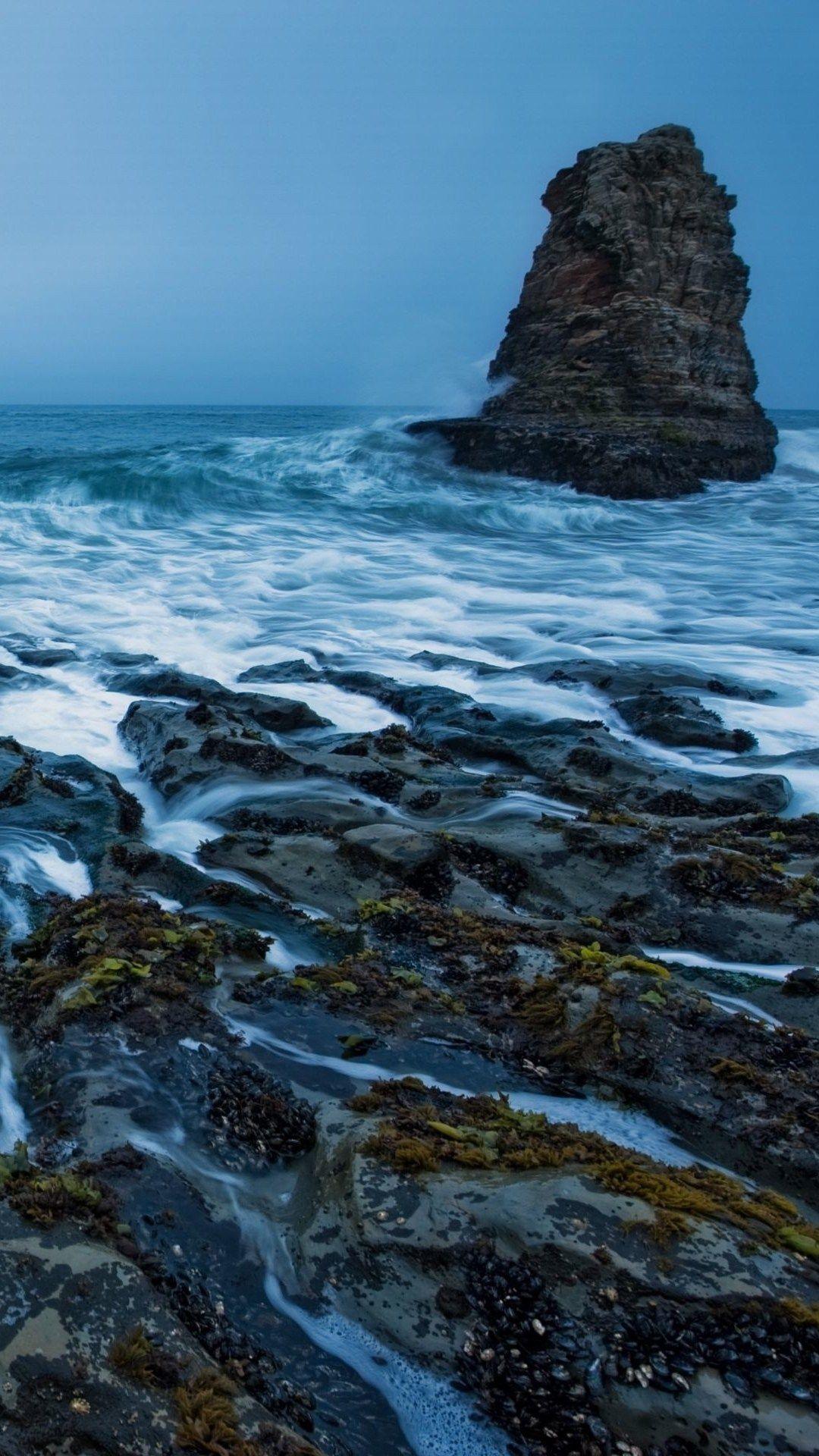 Surging Wave Among Rock Mountain iPhone 6 plus