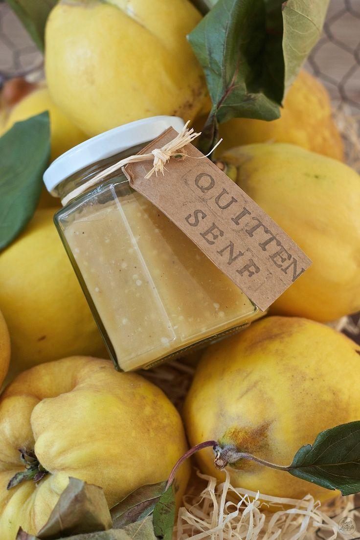 Hausgemachter Quittensenf - Sweets & Lifestyle