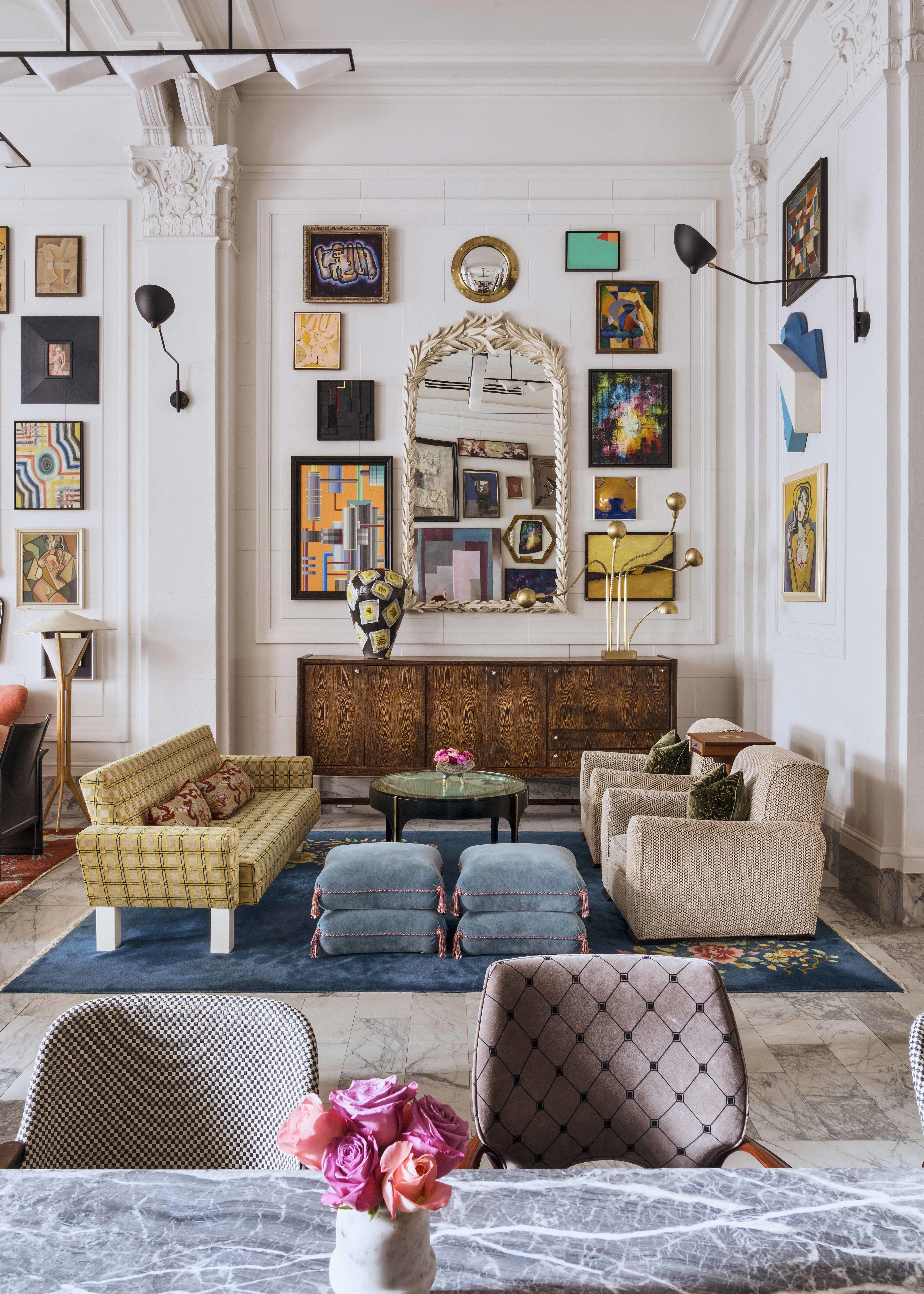 Introducing The 2019 Ad100 Eclectic Living Room Vintage Home