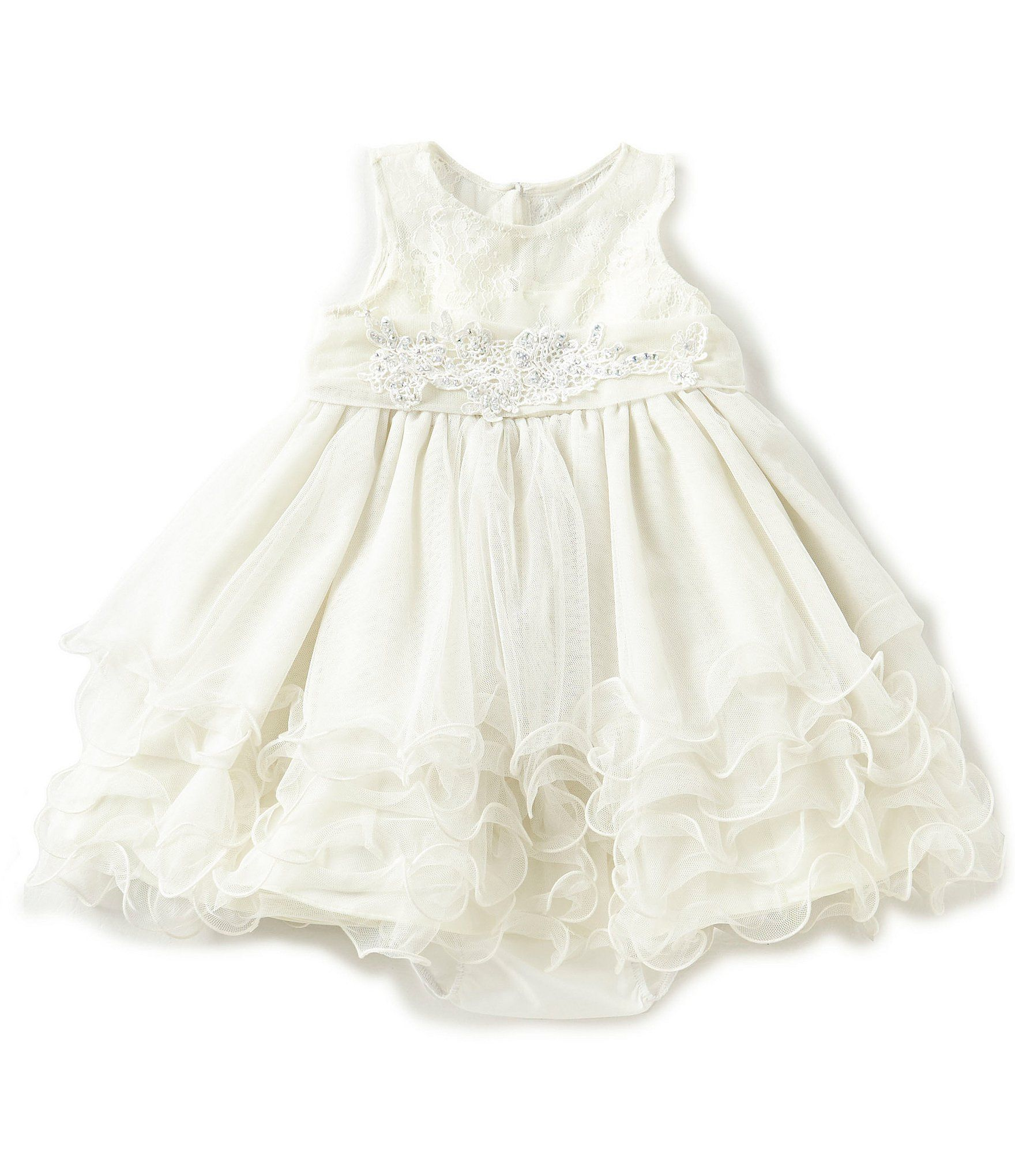 cb92b5bb768e5 Shop for Chantilly Place Baby Girls 12-24 Months Embroidered Fit-And-Flare  Dress at Dillards.com. Visit Dillards.com to find clothing, accessories,  shoes, ...