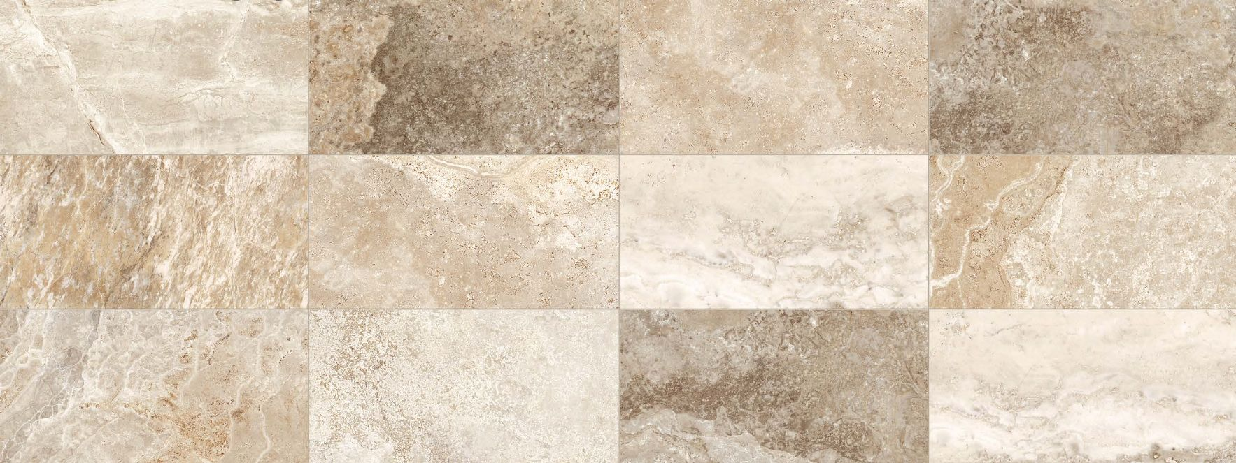P Travertino Cream Is An Italian Porcelain Tile From The Stone Mix Collection