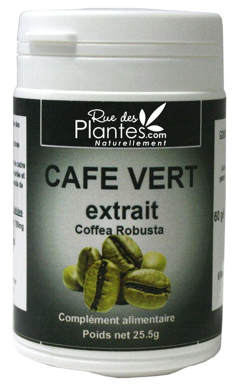 extrait de café vert antioxydanti