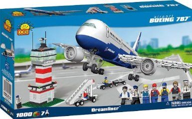 Cobi Boeing 787 Dreamliner and Airport: Amazon.co.uk: Toys & Games