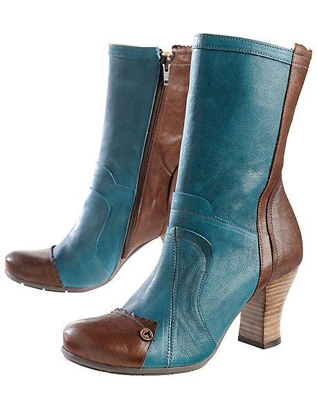 Stiefeletten Ladina, petrol | Shoes, all era's. All kinds