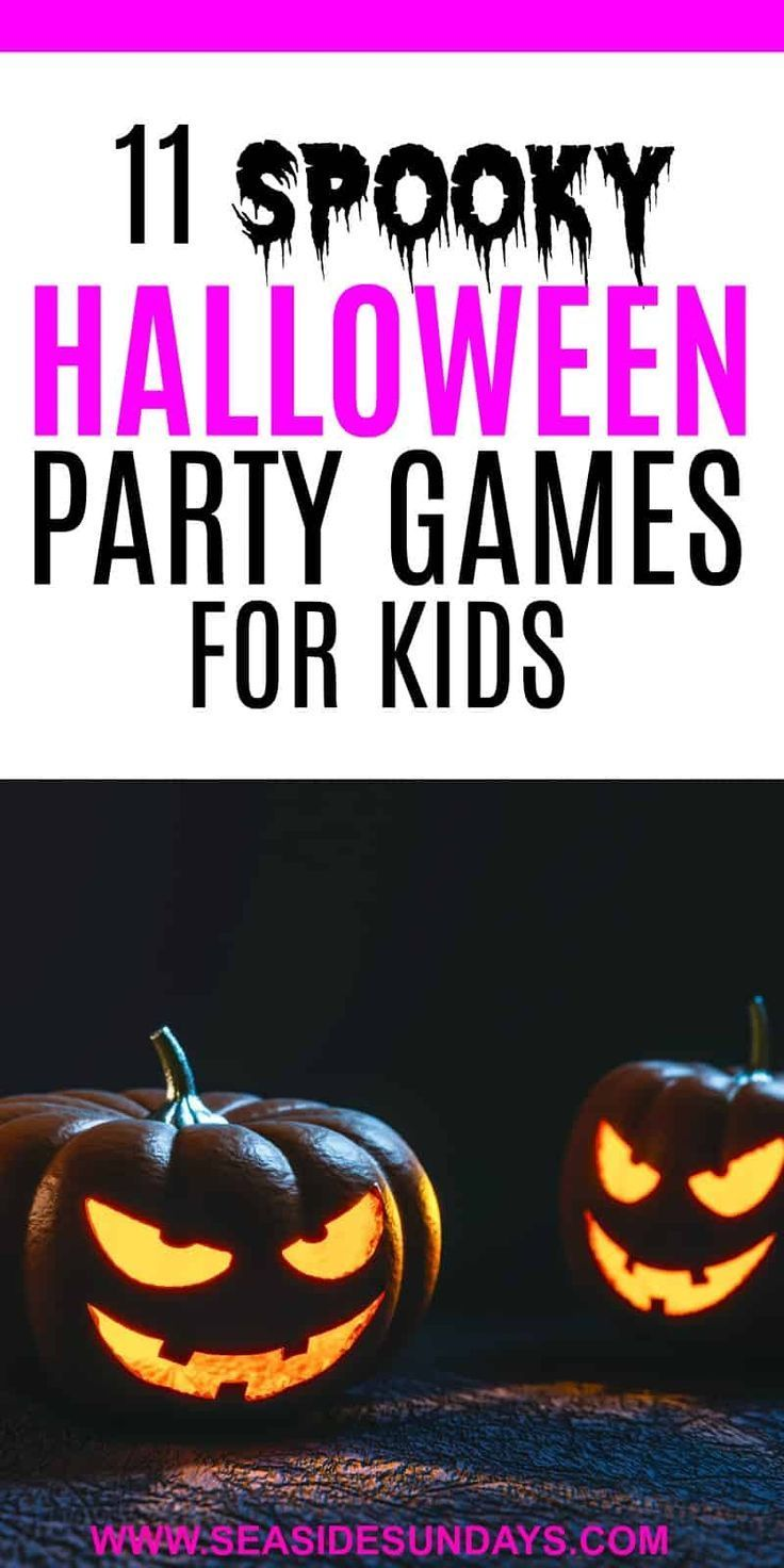 The Best Halloween Party Games For Kids #halloweenpartygamesforkids Great Halloween party games for kids. These are fun fall and Halloween themed activities for kids to do with friends or family. These Halloween games are suitable for young children or older kids in a group. These activities are cheap to play and are a lot of fun for children as Halloween approaches. #halloweenpartygamesforkids