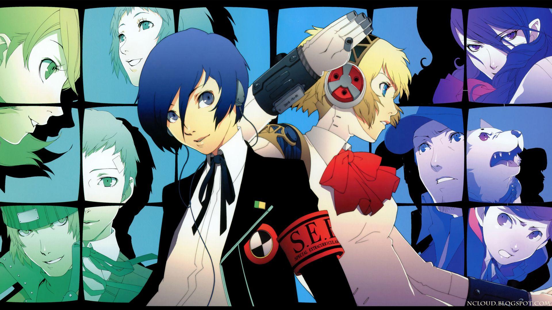 Persona 3 Wallpaper Photos Background Characters Character Shin Megami Tensei