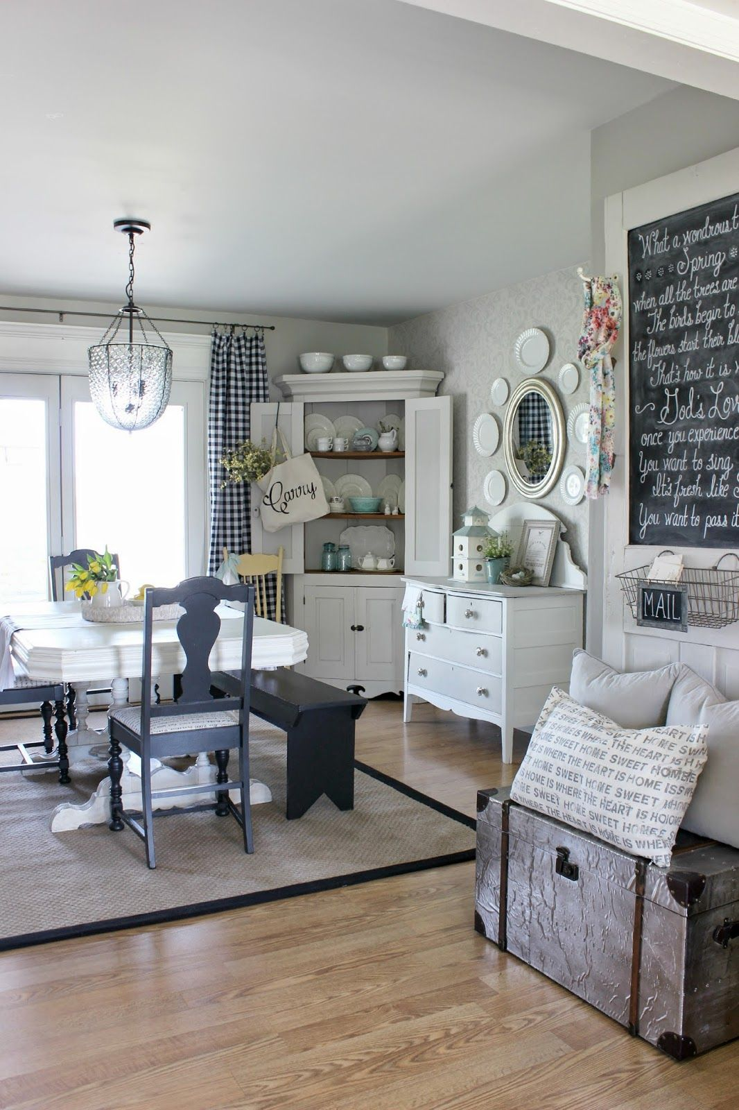Parade Of Homes Tour Hymns And Verses Neutral Dining RoomsFarmhouse
