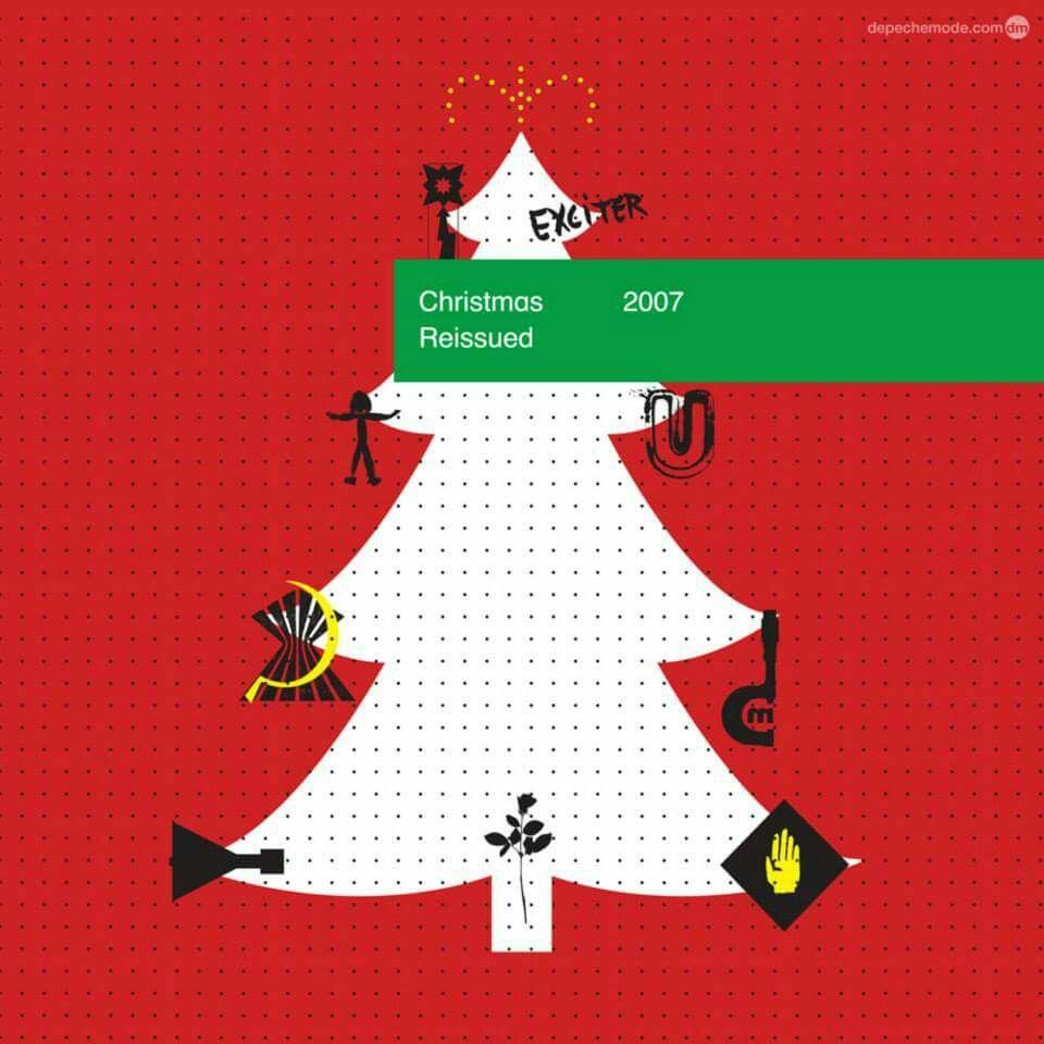 Depeche Mode Xmas Card 2007